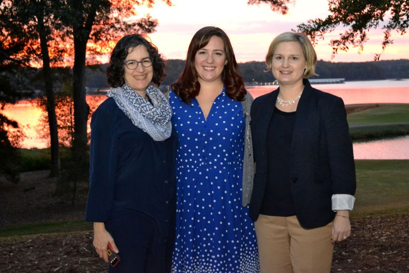 Image of the leaders of the WNATT project – Amy Slaton, Shannon Stefl, and Julie Martin